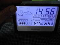 Top Produit Station Météo LCD Numérique Réveil Température Thermomètre Hygromètr