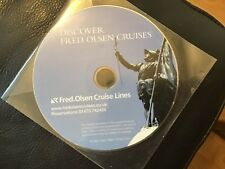 DISCOVER FRED OLSEN CRUISES . 2007 Travel Agents promotional DVD . NEW UNUSED