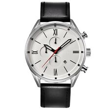 Infinity CS 02 Silver & Black Men's Casual Chronograph Watch - Designer Watch