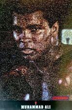 Muhammad Ali Photomosaic Boxing Poster 24 x 36