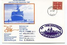 Polarstern Helicopter BO-105 Longyearbyen Polar Antarctic Cover SIGNED