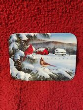 Cardinal collector plate The Quiet Hour Wilhelm J Goebel A Country Wonderland #1