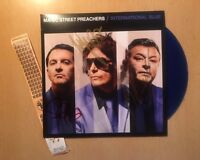 "Manic Street Preachers International Blue 7""  VINYL SINGLE Autographed SIGNED"