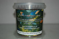 Aquarium Goldfish & Coldwater Flake 1180 ml Tub approx 140g Complete Food