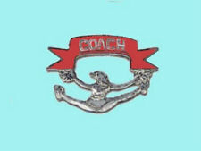 Cheerleading Cheer Leading Coach Lapel Pin - THANK YOUR COACH