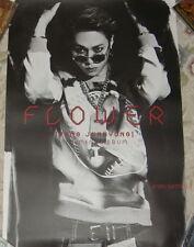 Yong Jun Hyung Mini Album Vol. 1 Flower Taiwan Promo Poster (JUNHYUNG BEAST)