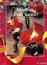 Querflöte Noten : Mexican Folk Tunes mit CD  - 14 Duette  - mittelschwer