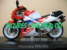 MOTO 1/24 HONDA RVF RC 45 COLLECTION GM MOTORRAD MOTORCYCLE