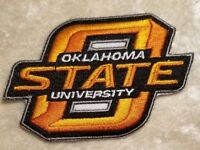 Oklahoma State University Cowboys Iron/Sew On Embroidered Patch ~FREE Ship`!!