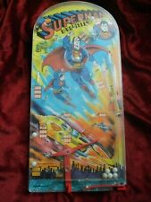 Vintage DC Comics Superman Bagatelle Large 22 Inches Long 1978 Q156/2 Raised