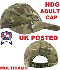 ADULT ARMY KOMBAT UK BASEBALL CAP - BTP MULTICAMO MTP COTTON OPERATORS CAMO HAT