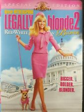 Legally Blonde 2: Red, White and Blonde (DVD, 2003, Widescreen)