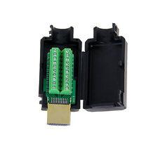 1pcs NEW HDMI Adapter signals Terminal Breakout Plastic Cover DIY