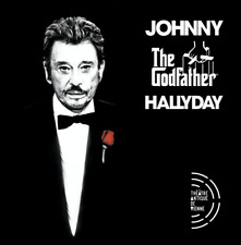 "JOHNNY HALLYDAY : ""The Godfather"" (Vienne 2013) (RARE 2 CD)"