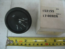 New Vintage OEM Fuel Level Gauge Peterbilt P/N 17-02828 Ref. # 152155 00840AA