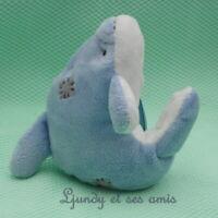"My Blue Nose Friends Peluche DAUPHIN 4"" 10 cm"