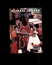 1992 SKYBOX USA BASKETBALL #41 MICHAEL JORDAN (F)