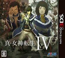 USED NINTENDO 3DS Shin Megami Tensei IV JAPAN OFFICIAL IMPORT
