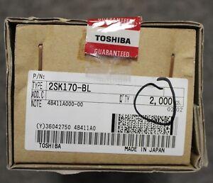 """Qty 200 2SK170 Toshiba J-FETs - 2SK170BL - NEW - """"B"""" / """"BL"""" Grade (6-12mA)"""