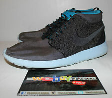 Nike Air Roshe Run Mid Paris Blue Gray Grey Sneakers Men's Size 12 Used No Box