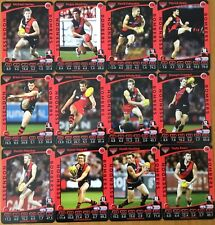 2012 AFL TEAMCOACH ESSENDON BOMBERS COMMON BASE TEAM SET 12 CARDS