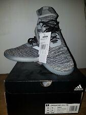 Adidas Predator 19.1 Tr Medium Grey Heather indoor football shoes UK 9.5 44