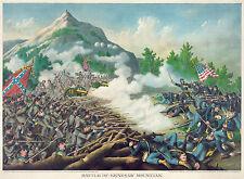 Civil War Prints and Drawings: Battle of Kenesaw Mountain: Fine Art Print
