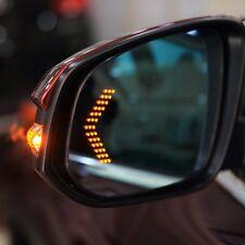 1 Pair 14 SMD LED Arrow Panel Car Rear View Mirror Indicator Turn Signal Lights