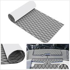 "13.8""*74.8"" EVA Foam Grey+Black Autos Flooring Mat Carpet Sheet Pad Teak Decking"