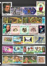 Ras Al Khaima stamp selection (Ref.739a)