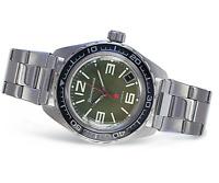 Vostok Komandirskie 2416/020715 Watch Automatic Mens Military Russian Watch