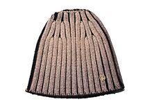 Bogner Damen Cap Mütze Beanie PEGGY Goldfarben Schwarz Größe M Neu mit Etikett