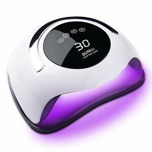 SUN BQ5T 120W UV LED Nail Dryer Professional Curling Lamp Sensor Gel Polish