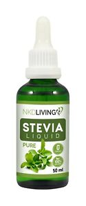 Stevia Liquid Drops by NKD Living - 6 flavours, Pure, Vanilla, Chocolate...