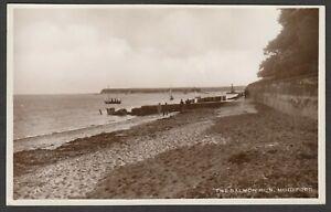 Postcard Mudeford nr Christchurch Dorset early view of The Salmon Run RP