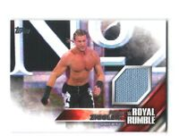 WWE Dolph Ziggler 2016 Topps Then Now Forever Royal Rumble Mat Relic Card 55/399