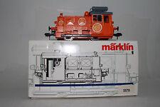 MARKLIN GAUGE 1 #5578 S'MANDARINLI DIESEL LOCOMOTIVE ENGINE, RARE SPECIAL ORANGE