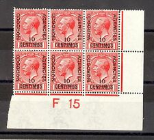 Colony Block Morocco Agencies Stamps