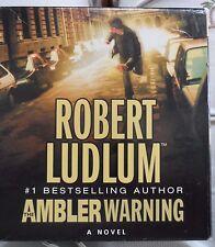 The Ambler Warning by Robert Ludlum (2005, CD, Unabridged)