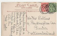 Mr & Mrs Collins Sandringham Avenue Benton Northumberland 1921 282a