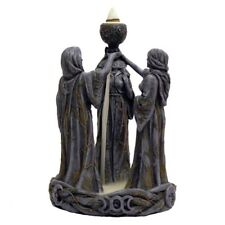 Mother Maiden & Crone Backflow Incense Burner / Nemesis Now / Witchcraft / Wicca
