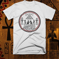 Egyptian Kemetic T-Shirt Egypt Ankh Eye Of Horus Pharaoh MAAT Nefertiti tee