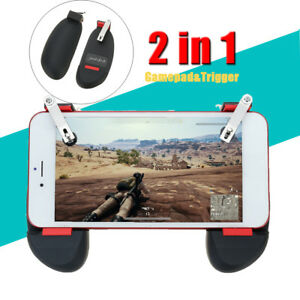Game Controller Gamepad Joystick Trigger Fire Button For Mobile pubg #