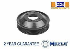 BMW E46 Z3 ENGINE COOLING FAN WATER PUMP PULLEY 11511436590 A836