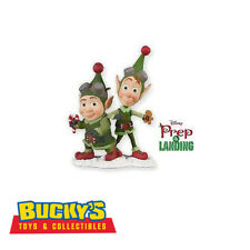 Disney's Prep & Landing 2010 Hallmark Ornament Elf Brothers Wayne Lanny Santa