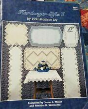 Hardanger Gifts II by Vicki Madison Ley - Hardanger Pattern Booklet