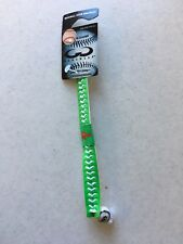 BRAND NEW PHILADELPHIA PHILLIES GREEN COLOR LEATHER BRACELET FREE SHIPPING