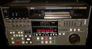SONY DVW-500 Analog/Digital Betacam Editing Video Cassette Recorder