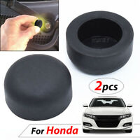 2pcs Front Windshield Wiper Arm Nut Covers Cap For Honda Civic CRV Pilot Odyssey