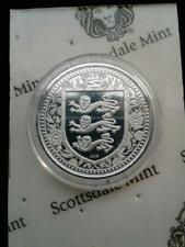 2018 1 oz. .999 Silver Gibraltar Royal Arms of England Coin